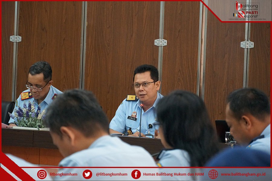 Survei IPK Balitbangkumham Makin Diperhitungkan