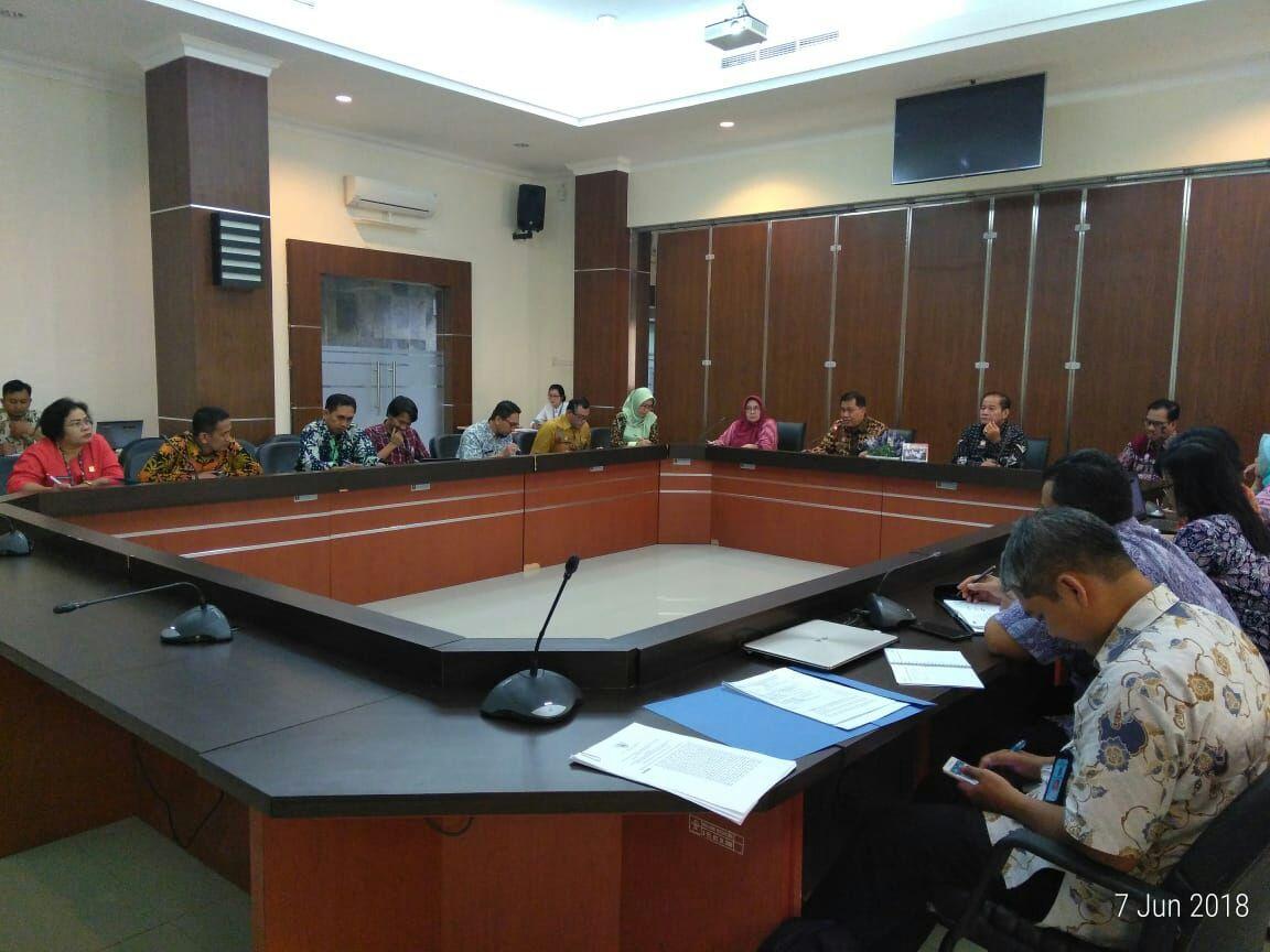Pembahasan Penyusunan Manajemen Penelitian Riset dan Pengembangan Hukum dan Hak Asasi Manusia
