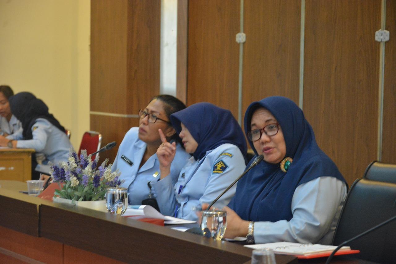 Balitbang Hukum dan HAM Gelar Rapat Evaluasi Pelaksanaan Anggaran Triwulan I