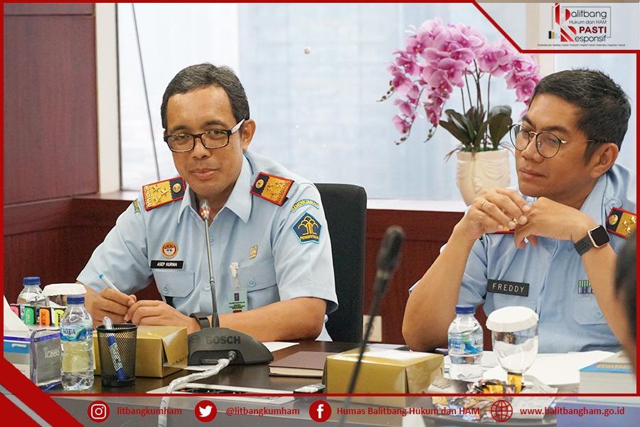 Ditjen KI meminta Balitbangkumham untuk Mengkaji Persepsi Prosedur Pelayanan KI