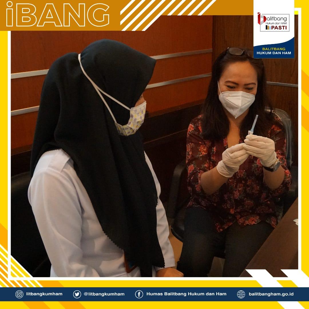Balitbangkumham Kembali Bekerjasama dengan RS Siloam Untuk Mengadakan Kegiatan Vaksinasi Influenza Gelombang 2