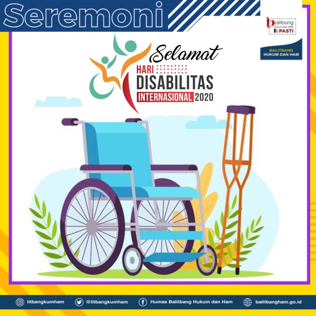 Selamat Hari Disabilitas Sedunia