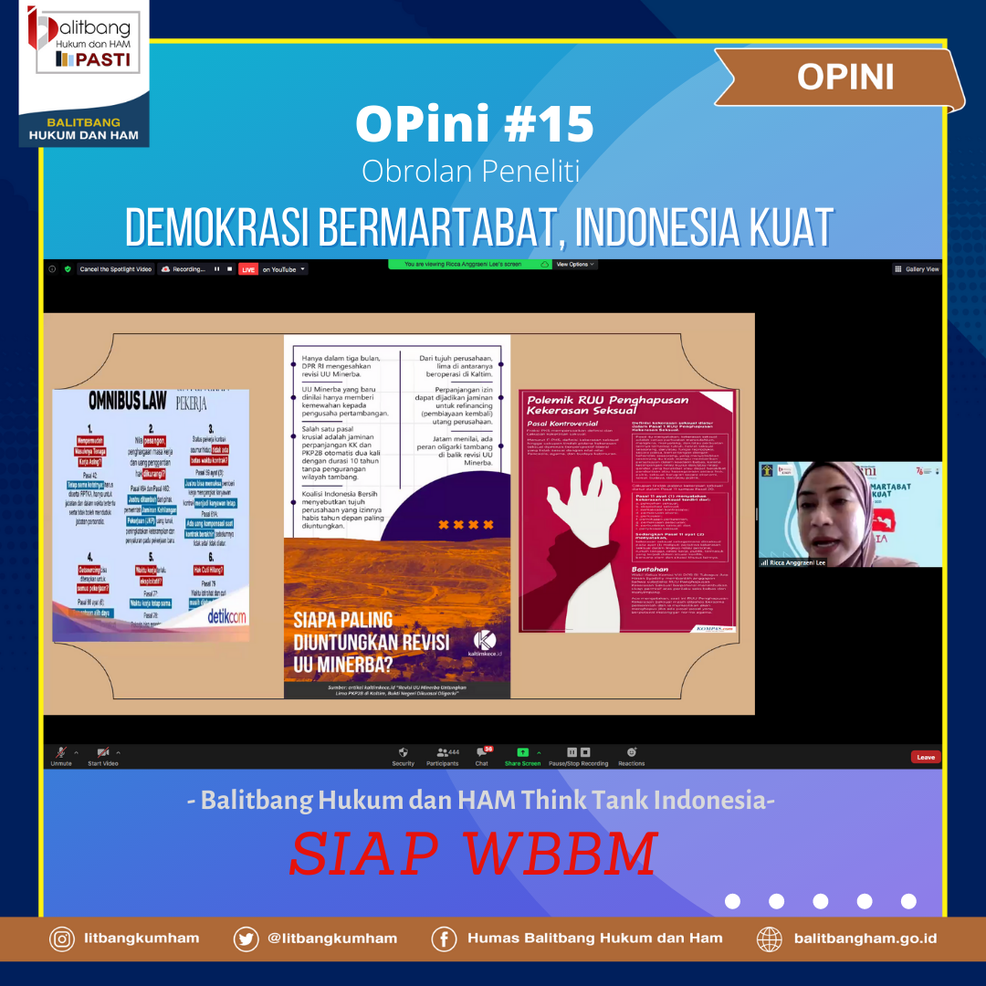 Demokrasi Bermartabat , Indonesia Kuat