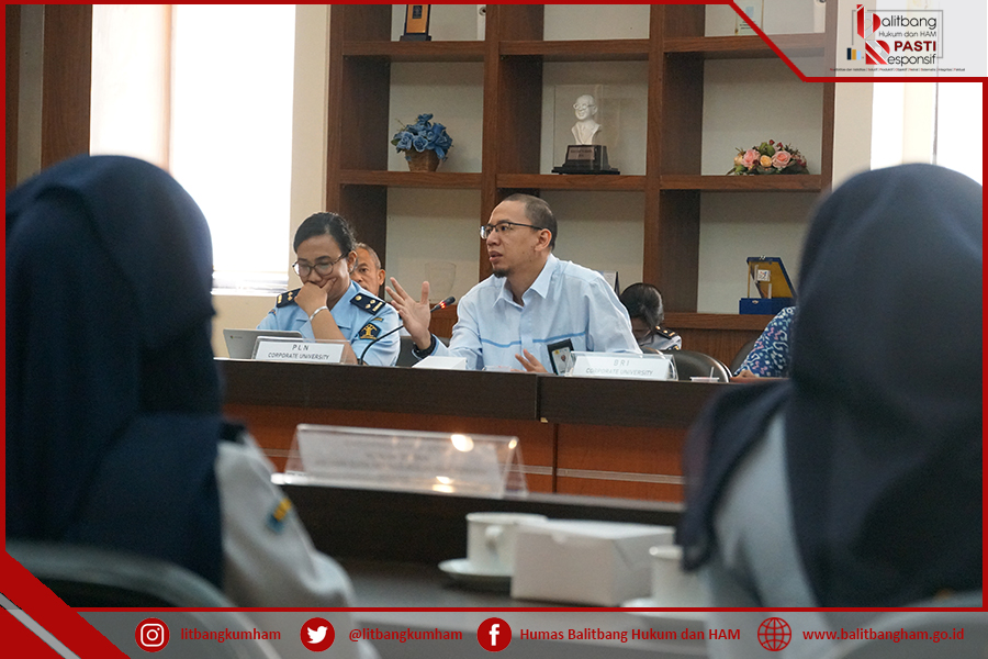 Focus Group Discussion FGD wacana pembentukan Kemenkumham Corporate University