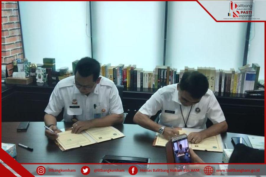 BNN Rangkul Balitbangkumham untuk Riset Bersama