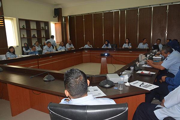 Sosialisasi Pembinaan dan Monitoring Disiplin Pegawai di lingkungan Balitbang Hukum dan HAM
